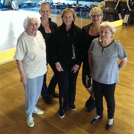 Sarengue® für Senioren ist gut machbar