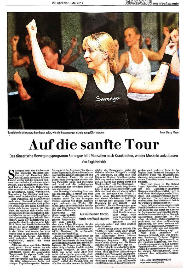 Presse - Sarengue® - Auf die sanfte Tour