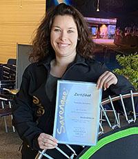 Franziska Schramm, Sarengue® Instruktorin